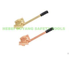 Non Sparking Safety Barrel Spanner Drum Opener Copper Beryllium 520mm