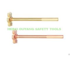 Non Sparking Bung Spanner Wrench 300mm Atex Copper Beryllium