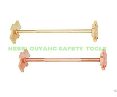 Non Sparking Safety Bung Wrench Aluminum Bronze 300mm