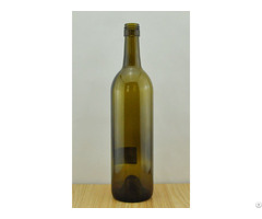 Bordeaux Wine Glass Bottle 1114