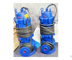 Wqb Ex Proof Submersible Sewage Pump