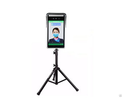 Mobile Installation 1080p Measurement Masked Face Recognition Body Temperature Instrument