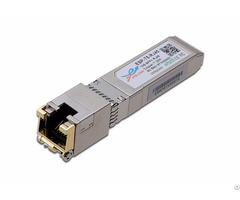 10gbase T Sfp Copper Rj45 Transceiver Optical Module