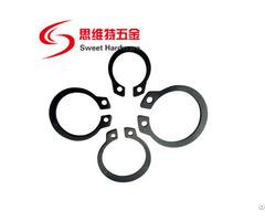 Spring Steel 65mn Retaining Ring For Shaft Din471 Circlip