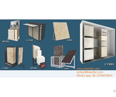 Porcelain Tile Showroom Display Solution Metal Rack Factory