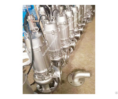Wqp Casting Stainless Steel Immersible Sewage Pump