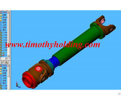 Universal Joints Shafts For Paper Machines