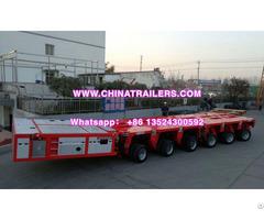 Trailer Lowboy Hydraulic Modular Unit Self Propelled Transporter Spt Scheuerle