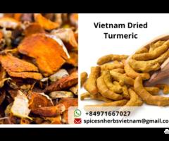 Dehydrated Dried Sliced Turmeric