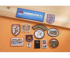 Custom Made Woven Badges