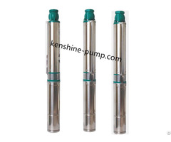 Qjd Stainless Steel Multistage Deep Well Submersible Pump
