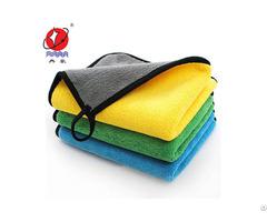 Coral Fleece Microfiber Car Wash Towel