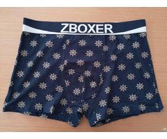 Men S Cotton Printing Boxer Shorts