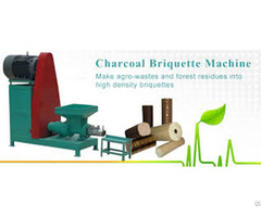 Charcoal Briquette Machine Can Make Environmental Protection Mechanism Carbon