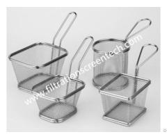 Fryer Basket Strainer Screen