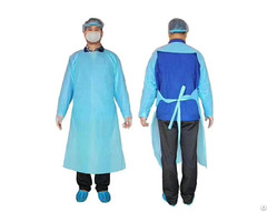 Fda Cpe Disposable Isolation Civil Use Gown