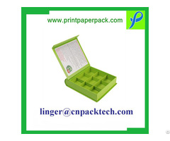 Custom Flip Coated Paper Gift Box