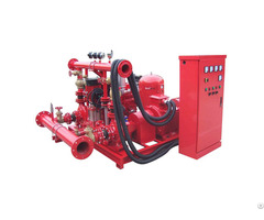High Pressure Fire Water Pump