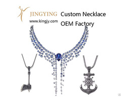 Custom Necklace Silver Jewelry Supplier And Wholesaler