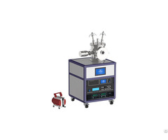 Small Double Sputter Head Pvd Vacuum Magnetron Sputtering Coating Equipment
