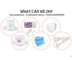 Specializing In The Production Of Sanitary Napkins Diapers Masks
