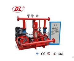 End Suction Type Diesel Engine Fire Pump Set