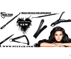 Black Titanium Manicure Pedicure Cuticle Nail Nipper Instruments Beauty Nails Tools