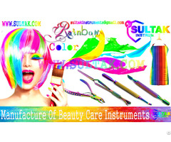 Surgical Rainbow Multi Color Nails Instruments Manicure Pedicure Wholesale Beauty Nail Care Products