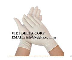 Rubber Gloves From Viet Nam