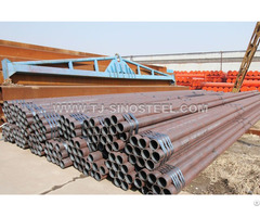 Seamless Steel Pipe Section Shape Round