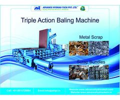 Hydraulic Baling Press Machine Manufacturer