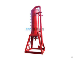 Mine Tailings Treatment Drilling Rig Services Oilfield Waste Disposal Solution Mud Gas Separator