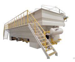 Wastewater Treatment Machine And Solid Liquid Separator Dissolved Air Flotation System In China