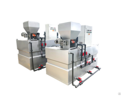 Wastewater Treatment Machine Automatic Polymer Preparation System In China