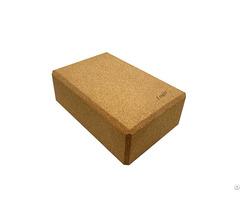 Custom Logo Eco Friendly High Density Cork Yoga Block