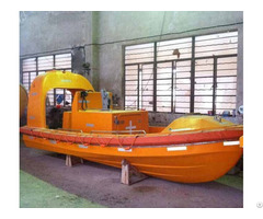 Solas Approved Fast Rescue Used Boat Fiberglass With Factory Sale Price