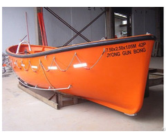 Marine Open Life Boat With Certificate For Sale