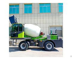 Az Sfm 1.2m3 Self Loading Mixer Truck
