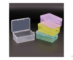 Weisheng Plastic Small Customize Storage Case Packing Box