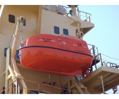 Sale Solas Approval Totally Enclosed Life Boat Rescuefor 20p With Davit