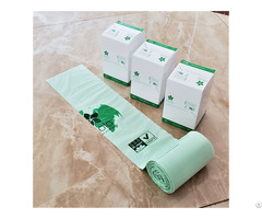 Name Biodegradable Folded Trash Bag