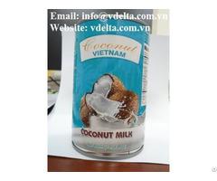 Canned Coconut Milk Viet Nam