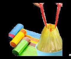 Drawstring Garbage Bag On Roll From Hanpak Jsc