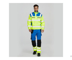 High Visibility Protective Factory Uniform Suit