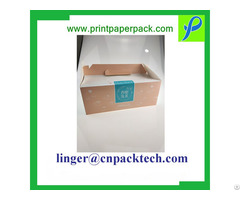 High Quality Foldable Color Cake Customized Paper Cardboard Gift Box