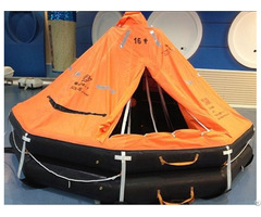 Small Craft 12persons Used Life Raft Davit Launched For Lifesaving With Solas Approved