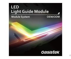 Led Lighting System Light Guide Module Oasistek