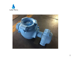 High Pressure Plug Valve With Hammer Union Ends Connection