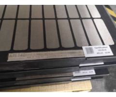 Mesh Screen With Hard Edge Or Composite Frame