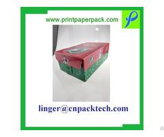 Customized Corrugated Shoe Storage Dust Proof Shipping Box